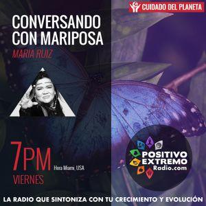 CONVERSANDO CON MARIPOSA CON XIOMENA MORALES- MEDICINA Y YOGA 8-18-2017