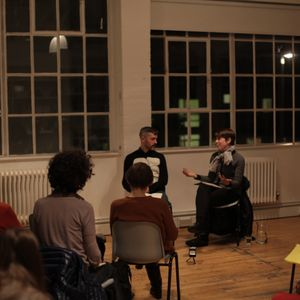 2014-11-06 The Showroom – Grace Schwindt in conversation with Martin Hargreaves