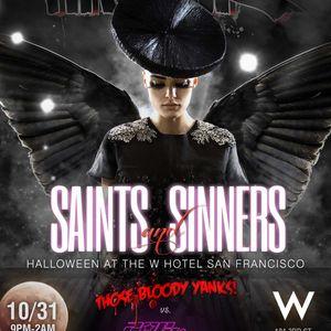 Hausik Halloween @ W Hotel SF