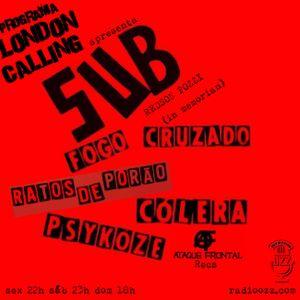 Programa London Calling - SUB (Redson Pozzi in memorian)