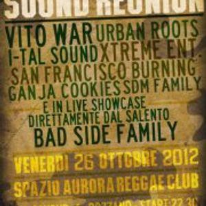[rec] I-TAL SOUND - sound reunion @ Spazio Aurora, Rozzano, MI (26.10.2012)