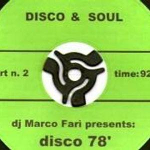 Dj Marco Far' presents: DISCO '78 PT.2