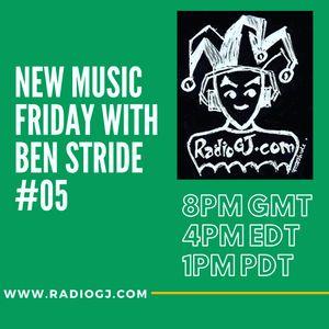 NEW MUSIC FRIDAY with Ben Stride 15th Nov 2019 RadioGJ.com