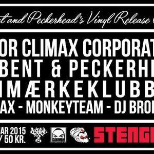 peckerhead & lisbent @ vinyl release, stengade, dk (20150213)