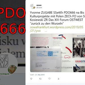 Yvonne ZUGABE SSetKh PDO666 na Bis Kulturprojekte mit Polen ZECh FO von Stefan Kosiewski ZR Das XIII