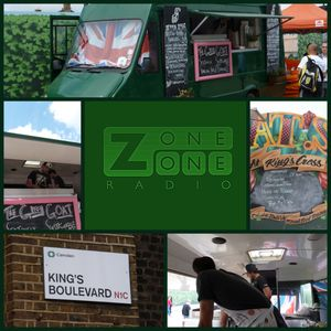 Philippa Ratcliffe - ZoneOneRadio - #StreetFood 001   Interview with Green Goat Food