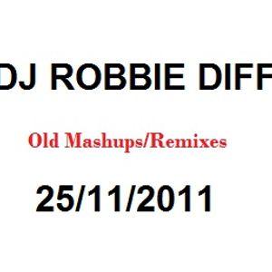 Old Mashups/Remixes 25/11/2011