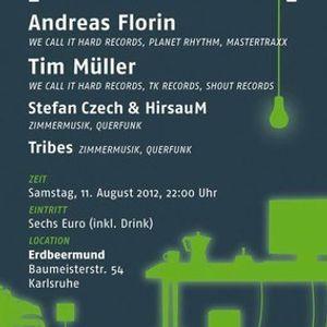 Andreas Florin & Tim Müller @ Erdbeermund Karlsruhe [11.08.2012]