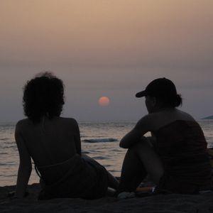 Adriatic Sun Gazing
