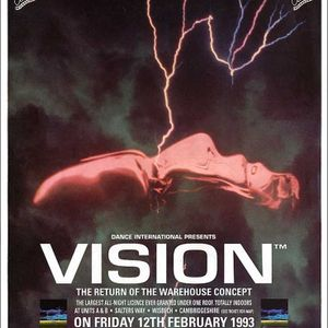 Top Buzz Vision 'The Return of the Warehouse Concept Part 1' 12th Feb 1993