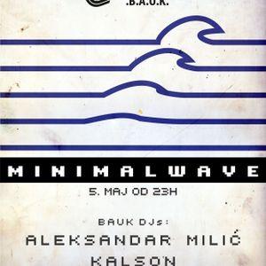 Aleksandar Milic - MinimalWave @ Feedback, 05.05.2012