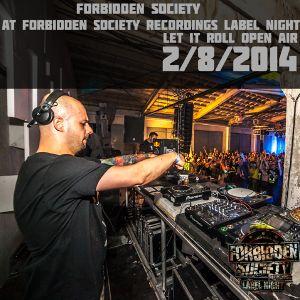 Forbidden Society at FSRECS Label Night 2/8/2014 @ Let It Roll OA