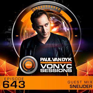 Paul van Dyk's VONYC Sessions 643 - Sneijder