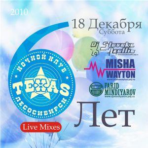 Slavaka Azallie - VI Years night club TEXAS Live Mix
