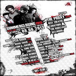 RDR vs. Zeroline (Live PA) @ Summerclosing 2013 - Sky Club Leipzig - 08.06.2013