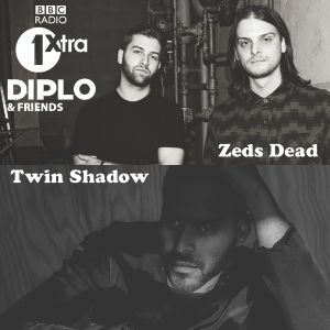 Diplo & Friends on BBC Radio 1 ft Zeds Dead and Twin Shadow 6/1/14