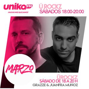 Ü Rockz Radioshow (Unika FM) Ed. 36 (18-3-2017)