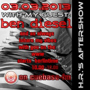 my little warm up for H.R´s Aftershow on www.Cuebase-fm.de (start is: 10am  - 3.3.2013)