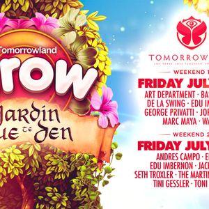 Edu Imbernon @ Tomorrowland 2017 (Elrow Stage) - 28 July 2017