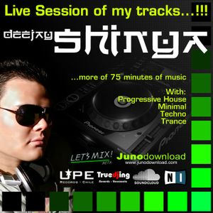 Dj'Shinya - Live Session for competitions 2010