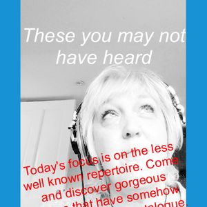 June 6th 2021 THESE YOU MAY NOT HAVE HEARD with Janet Shell