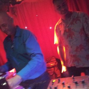 DJ Andy Smith & Dave Crozier at Madame Jo Jos 24.3.12