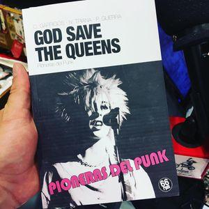 """God save the Queens, pioneras del punk"" con Cristina Garrigós y Alfred Crespo."