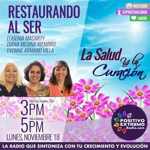 RESTAURANDO AL SER-11-18-19-LA SALUD Y LA CURACION