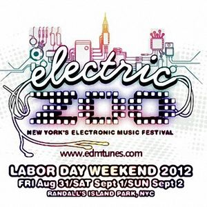 Tiesto – Live @ Electric Zoo (New York City) – 02.09.2012