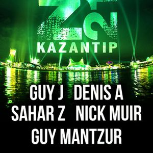 Guy Mantzur - Live at Kazantip festival (02-08-2013)