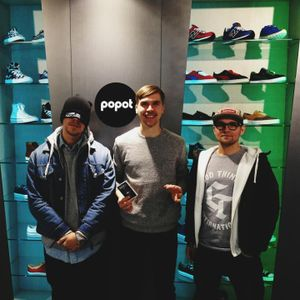 Popot x adidas Originals Sneaker Saturday w / Silver Bailey , Henry ( Good Things ) & Nick K