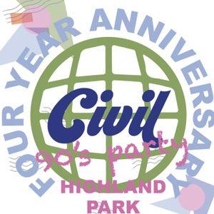 Civil Coffee 4 Year Anniversary