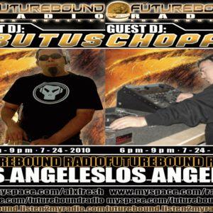 DJ CHOPPA B2B BRUTUS (((LIVE))) @ FUTUREBOUND RADIO L.A.