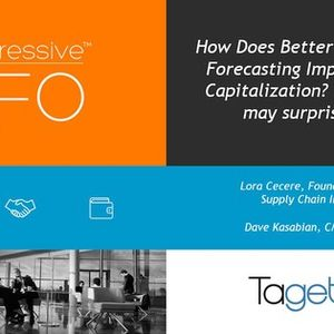 How does better operational forecasting impact market capitalization? The answer may surprise you