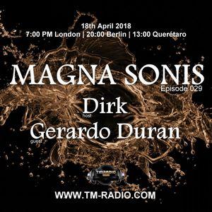 Dirk - Host Mix - MAGNA SONiS 029 (18th April 2018) on TM Radio