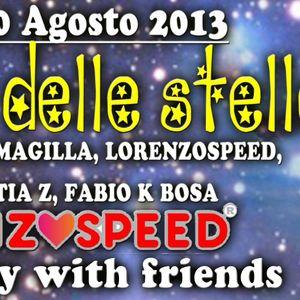 RiCKY MAGiLLA & LORENZOSPEED Live @ H2o 10/08/2013 buon compleanno LORENZOSPEED