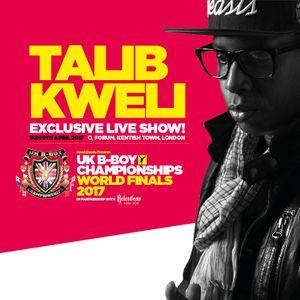 The Talib Kweli Blast Off! - UK B-Boy Championships 2017 Official Mixtape by DJ JamFu