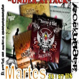 """""""Under Attack"""" LOS MARTES  A LAS 23:57 HS ESTAMOS CON """"UNDER ATTACK"""" EL MEJOR PROGRAMA DE DIFUSION Y"""