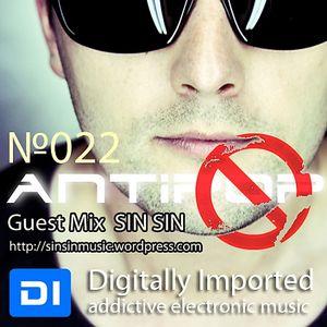 Tarbeat  - AntiPOP №022 [SIN SIN Guest mix ] (13.07.12) Di.FM