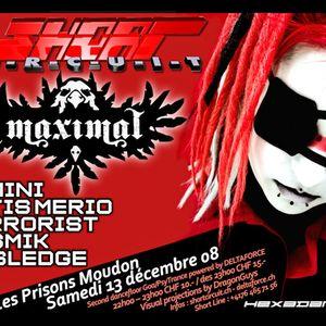 DJ TERRORIST @ Short Circuit Moudon 13-12-2008