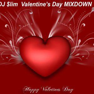 DJ SLIM VDAY MIXDOWN 2013