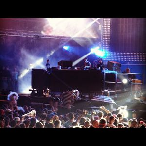 Chase & Status feat. MC Rage (MTA Records) @ Electric Daisy Carnival 2012 - New York (18.05.2012)