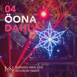 Öona Dahl - Mayan Warrior - Burning Man 2018