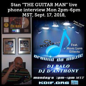 OD Harris Entrepreneur show  / Around Da Muzic Sept. 17, 2018 Stan The Guitarman