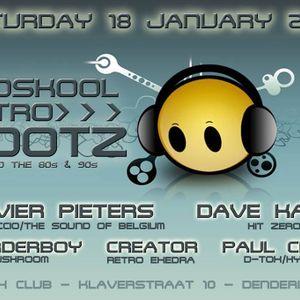 dj Olivier Pieters @ Club D-Tox - Oldskool Retro Rootz 18-01-2014