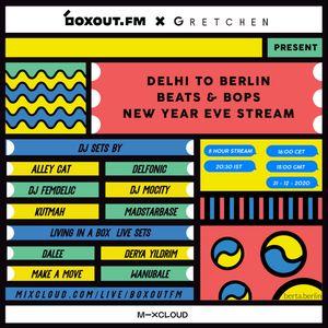 Delhi to Berlin - beats & bops - Delfonic (31-12-2020)