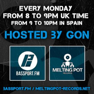 Melting Pot Radio S.01 EP.01 hosted by GON (26/06/2017)