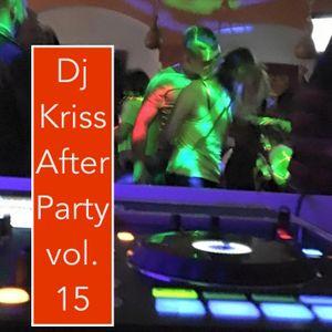 After Party vol.15 liveset DJ Kriss