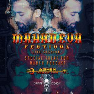 MAHADEVA festival 2017 live session ASHEN ACHILA aka URBAN LIFE (Spirited Records)