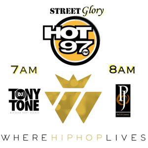 Street Glory Live on Hot 97 12.18.16